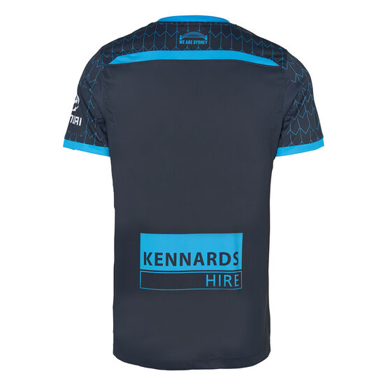 Sydney FC 2019/20 Mens Third Jersey, Navy, rebel_hi-res