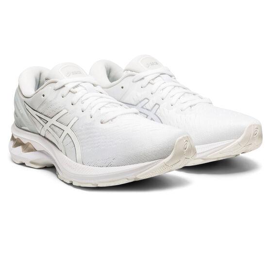Asics GEL Kayano 27 Womens Running Shoes, White, rebel_hi-res