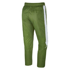 Nike Sportswear Mens Woven Core Track Pants Green S, Green, rebel_hi-res