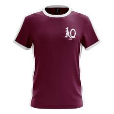 QLD Maroons State of Origin 2019 Kids Heritage Tee Maroon 8, Maroon, rebel_hi-res