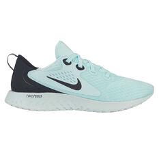 Nike Legend React Womens Running Shoes Green / Black US 6, Green / Black, rebel_hi-res