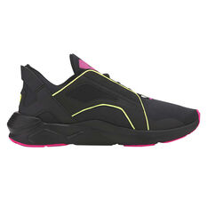 Puma x First Mile LQDCELL Method Womens Training Shoes Black/Pink US 6, Black/Pink, rebel_hi-res