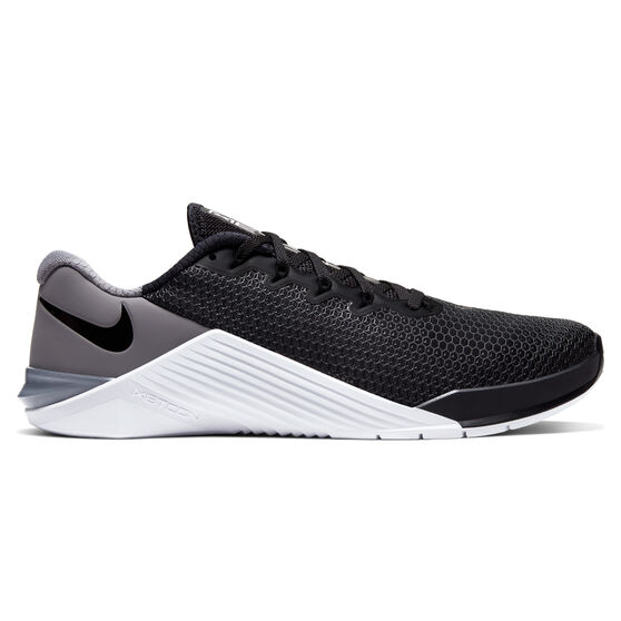 Nike Metcon 5 Mens Training Shoes, Black / White, rebel_hi-res