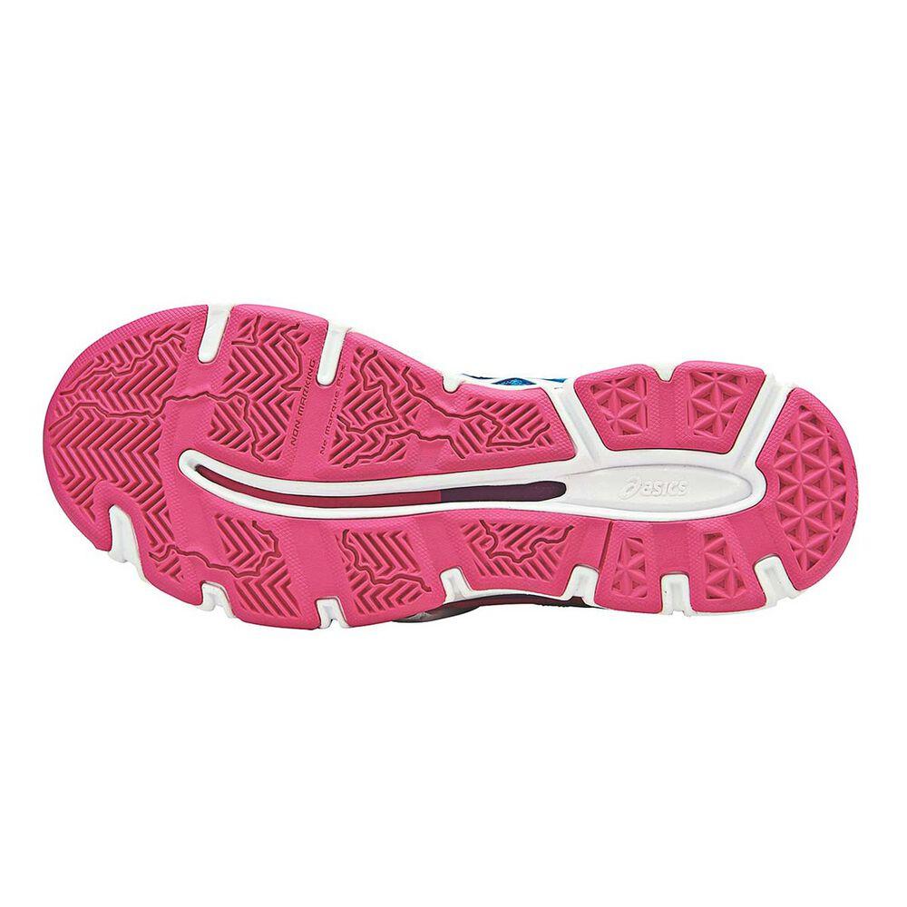 b6a62174de8e Asics Gel Netburner Professional 13 Womens Netball Shoes Blue   Pink US 8