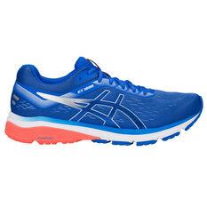 Asics GT 1000 7 Mens Running Shoes Blue / Silver 7, Blue / Silver, rebel_hi-res