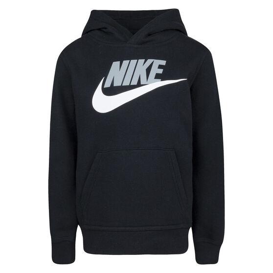 Nike Boys VF Club HBR Hoodie, Black, rebel_hi-res