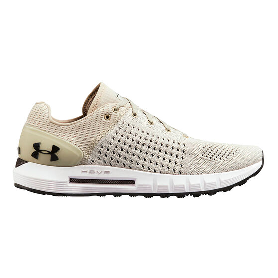 Under Armour HOVR Sonic Mens Running Shoes, White / Black, rebel_hi-res