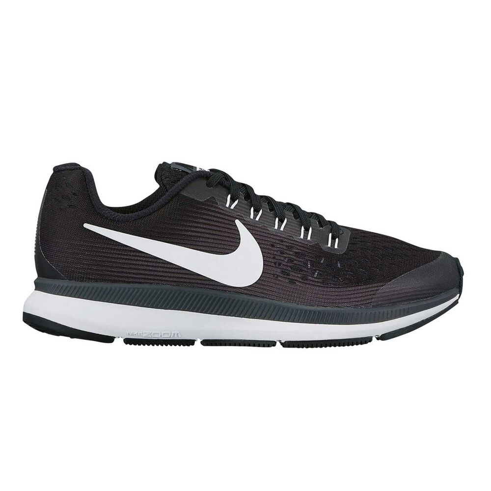 67a992d31f15 Nike Zoom Pegasus 34 Kids Running Shoes Black   White US 1