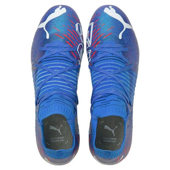 Puma Future Z 1.2 Football Boots, Blue/Red, rebel_hi-res