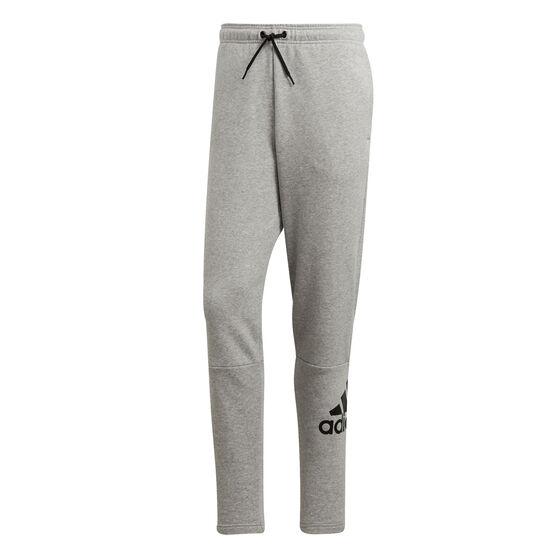 adidas Mens Must Haves Badge of Sports Pants, Grey, rebel_hi-res