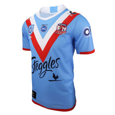Sydney Roosters 2021 Kids Wartime ANZAC Jersey Blue S, Blue, rebel_hi-res