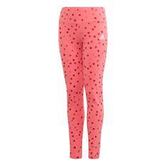 adidas Girls Graphic Tights Pink / White 6, Pink / White, rebel_hi-res