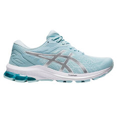 Asics GT 1000 10 Womens Running Shoes Blue/Silver US 6, Blue/Silver, rebel_hi-res