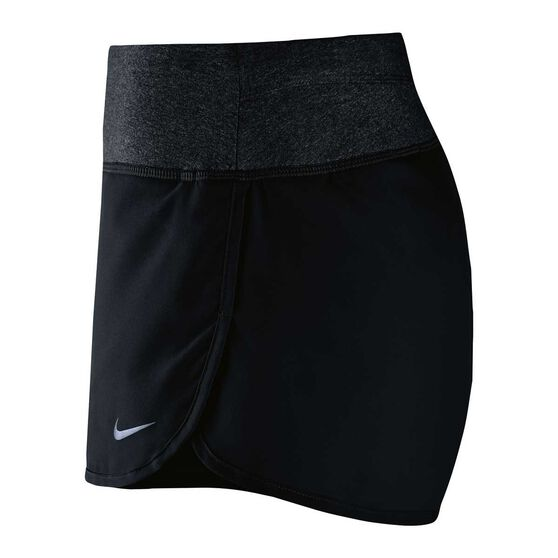Nike Womens Rival Shorts Black XL, Black, rebel_hi-res