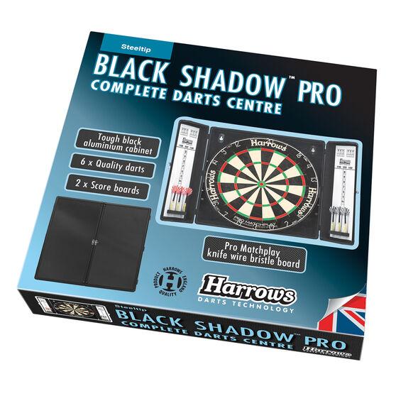 Harrows Black Shadow Pro Aluminium Complete Darts Centre, , rebel_hi-res