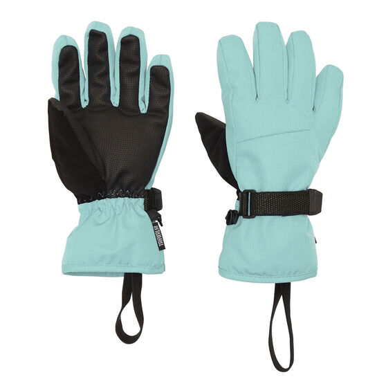 Tahwalhi Girls Cub Ski Gloves, Blue, rebel_hi-res
