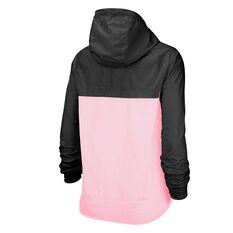 Nike Womens Sportswear Windrunner Jacket Pink / Black XS, Pink / Black, rebel_hi-res