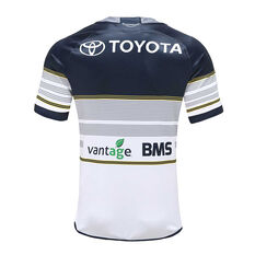 North Queensland Cowboys 2020 Mens Home Jersey White / Navy S, White / Navy, rebel_hi-res