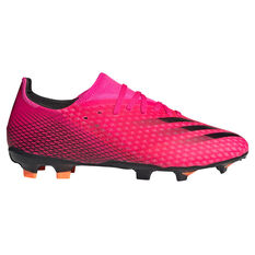 adidas X Ghosted .3 Football Boots Pink US Mens 7.5 / Womens 8.5, Pink, rebel_hi-res