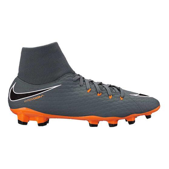 kup popularne kup dobrze słodkie tanie Nike Hypervenom Phantom III Academy Dynamic Fit Mens Football Boots Grey /  Orange US 7.5