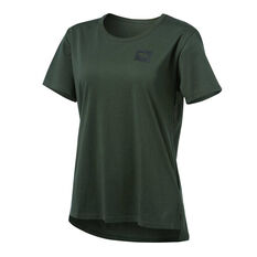 Running Bare Womens The Perfect Heritage Crew Tee Khaki 8, Khaki, rebel_hi-res