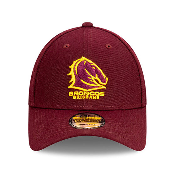 Brisbane Broncos New Era Authentic Core 9FORTY Cap, , rebel_hi-res