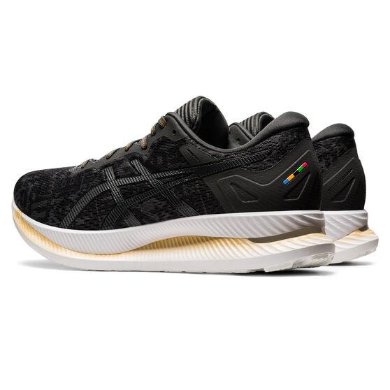 Asics Glideride EDO Era Mens Running Shoes, Black/Grey, rebel_hi-res
