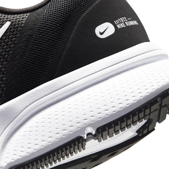 Nike Zoom Span 3 Mens Running Shoes, Black/White, rebel_hi-res