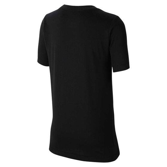 Nike Dri-FIT Boys Basketball Tee, Black, rebel_hi-res