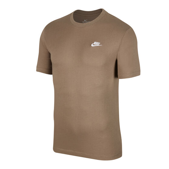 Nike Sportswear Mens Club Tee, Grey, rebel_hi-res