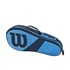 Wilson Match III Racquet Bag Blue, Blue, rebel_hi-res