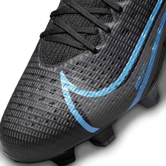 Nike Mercurial Superfly 8 Pro Football Boots, Black/Grey, rebel_hi-res
