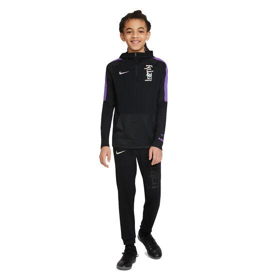 Nike Boys Kylian Mbappe Dri-Fit Hoodie, Black, rebel_hi-res