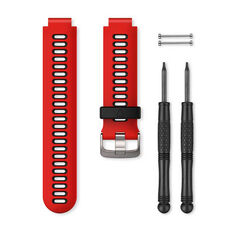 Garmin Lava Red / Black Adjustable Watch Band, , rebel_hi-res