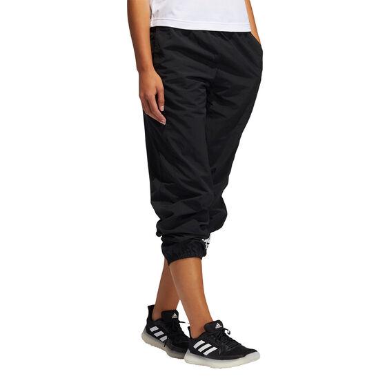 adidas Womens Fashion Woven Pants, Black, rebel_hi-res