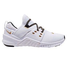 Nike Free Metcon 2 Womens Training Shoes White / Gold US 6.5, White / Gold, rebel_hi-res