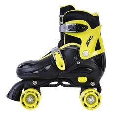 Goldcross GXC165 2 in 1 Inline Skates Yellow US 3-6, Yellow, rebel_hi-res