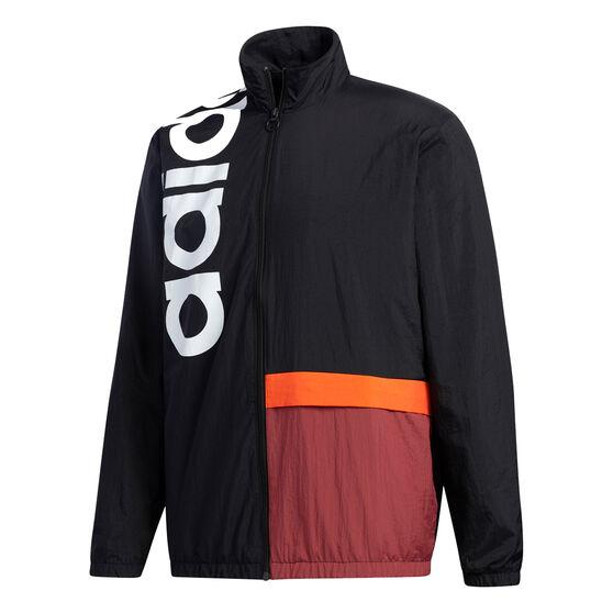 adidas Mens New Authentic Jacket, Black, rebel_hi-res
