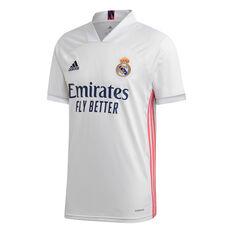 Real Madrid CF 2020/21 Kids Home Jersey, White, rebel_hi-res