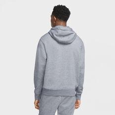 Nike Sportswear Mens Hoodie Grey M, Grey, rebel_hi-res