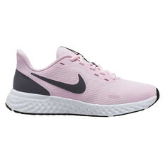 Nike Revolution 5 Kids Running Shoes Pink / White US 4, Pink / White, rebel_hi-res