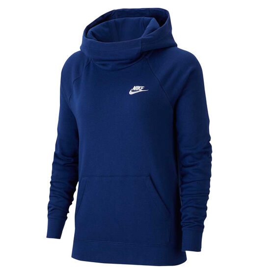 Nike Womens Sportswear Essential Funnel Neck Hoodie, , rebel_hi-res