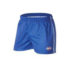 AFL Kangaroos Mens Supporter Shorts, , rebel_hi-res