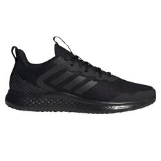 adidas Fluidstreet Mens Running Shoes Black/Grey US 7, Black/Grey, rebel_hi-res