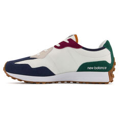 New Balance 327 Kids Casual Shoes White/Navy US 4, White/Navy, rebel_hi-res