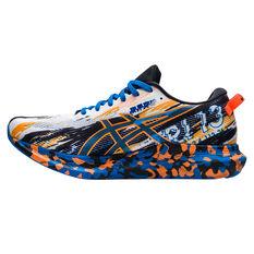 Asics GEL Noosa Tri 13 Mens Running Shoes White/Orange US 9, White/Orange, rebel_hi-res