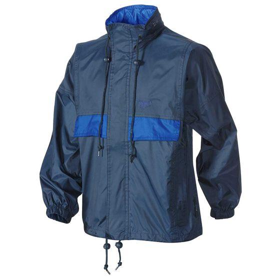 Team Kids Stowaway Jacket, Navy / Blue, rebel_hi-res