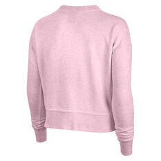 Nike Womens Dri-FIT Get Fit Training Sweatshirt, Pink, rebel_hi-res
