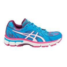 Asics Gel Netburner Professional 13 Girls Netball Shoes Blue / White US 2, Blue / White, rebel_hi-res