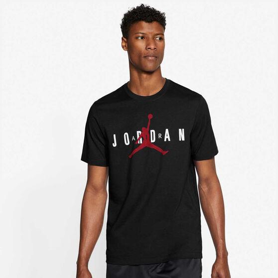 Jordan Mens Jumpman Air Tee, Black, rebel_hi-res
